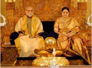 Sri Amma en Sri Bhagavan