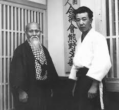 O-Sensei and Michio Hikitsuchi